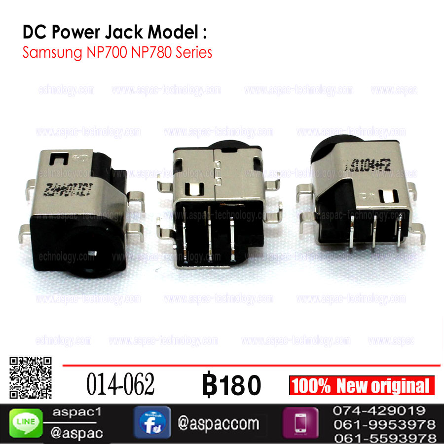 DC Power Jack for Samsung NP700 NP780 Series