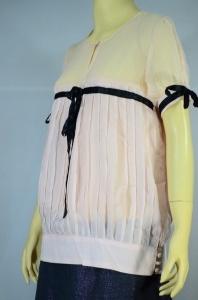 CHLOE เสื้อผ้าชีฟอง สีชมพู (โอโรส)