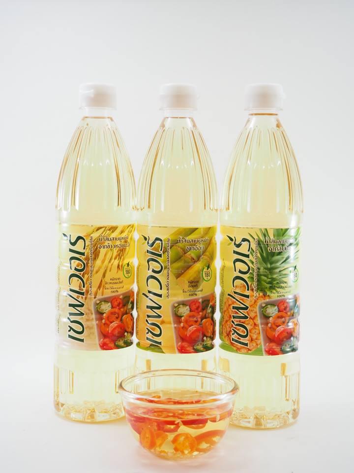 น้ำส้มสายชูหมักจากผลไม้ ตรา เซฟเวอเร่ **