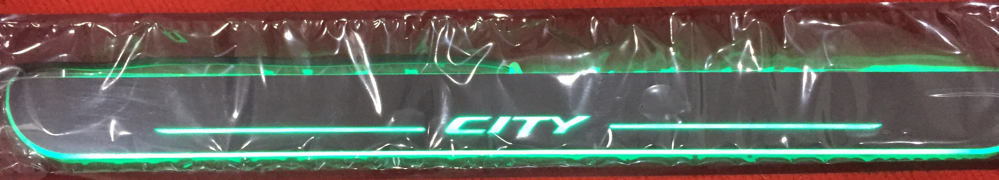 LED sill scuff plate- City