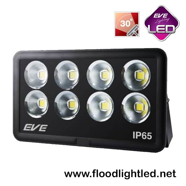 สปอร์ตไลท์ LED 400w รุ่น COB SPOT ยี่ห้อ EVE (แสงขาว)