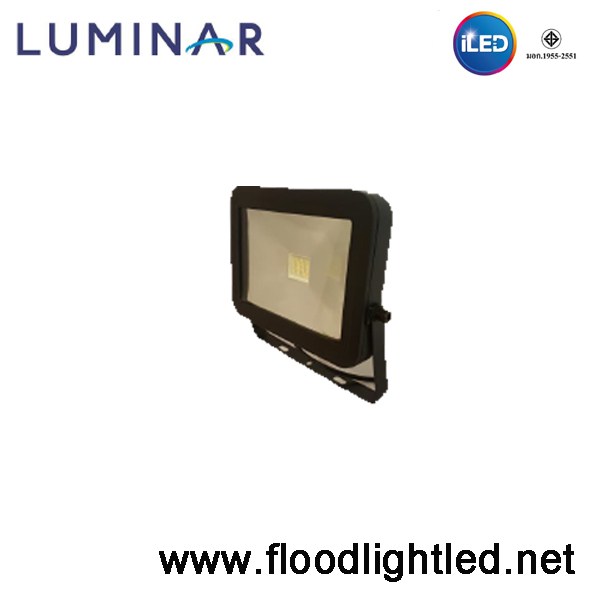สปอร์ตไลท์ LED Luminar 10w แสงส้ม