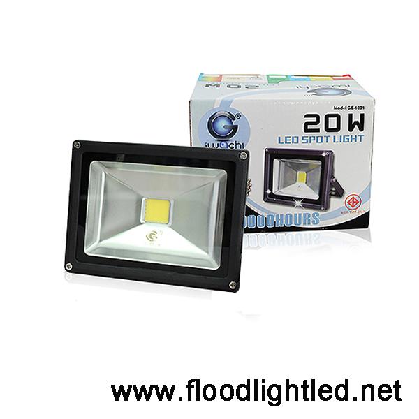 สปอร์ตไลท์ LED Floodlight IWACHI 20w (แสงส้ม)