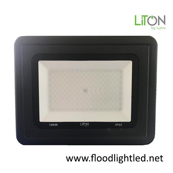 สปอร์ตไลท์ LED 100w รุ่น Curve ยี่ห้อ Liton by lumi (แสงขาว)