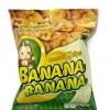 กล้วยสุกทอด ขนมเพื่อสุขภาพ 34 g.**