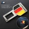 ที่เสียบเข็มขัดนิรภัยรถ BMW ลายเยอรมัน