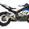 ท่อ AUSTIN RACING GP1R BLACK TIP WITH TITANIUM CAN DECAT FOR BMW S1000RR (2017)