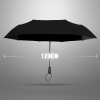 Ultra Size Black UV Coating Auto Umbrella ร่มออโต้เคลือบยูวีสีดำ กันแดด กันยูวี 100% ขนาดใหญ่ - ดำ