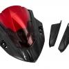 ชิวหน้า MOTOZAAA FUJIN สีดำ ชิวแดง FOR HONDA CBR650F