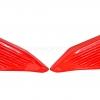 ครอบกระเป๋าข้าง MOTOZAAA สีแดง FOR HONDA REBEL