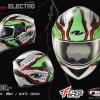 หมวกกันน็อค Real Bravo Electro White/Green