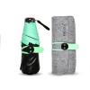 SPF50+ Mini Folding ร่มพับป้องกันรังสียูวี100%ขนาดเล็ก - เขียว
