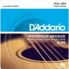 สายกีตาร์โปร่ง D'Addario EJ16 เบอร์12