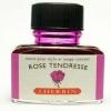 หมึก D Ink 30ml. J.Herbin - สีชมพูสว่าง Rose Tendresse 61