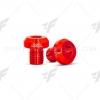 น็อตอุดกระจก GTR สีแดง FOR HONDA