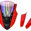 ชิวหน้า MOTOZAAA RAIJIN V3 สีแดง ชิวรุ้ง FOR HONDA CBR650F