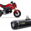 ท่อ TWOBROTHERS CARBON FOR HONDA MSX 125