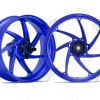 ล้อ MARCHESINI 7 SPOKES ALUMINIUM BLUE ANODIZED LIMITED FOR YAMAHA R1/R1M