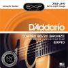 สายกีตาร์โปร่ง D'Addario EXP10