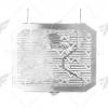 การ์ดหม้อน้ำ LEON สีเงิน FOR SUZUKI GSX-R150