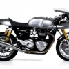 ท่อ Arrow Pro-Racing Silencers carbon for Triumph Thruxton r1200