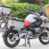 กล่องข้าง LOBOO PIKE TRACKER 38L 45L สีเงิน 2ใบ พร้อมชุดยึดข้าง FOR BMW R1200GS