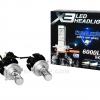 ไฟหน้า X3 LED HEADLIGHT 6000LM 50W