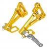 พักเท้า RSV สีทอง FOR HONDA CB650F/CBR650F