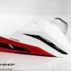 อกล่าง STORM สีขาวแดงดำ FOR HONDA CB650F