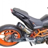 ท่อ AUSTIN RACING GP1R BLACK TIP WITH CARBON CAN DECAT FOR KTM DUKE390 (2013-2016)