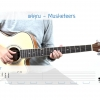 สอนกีตาร์โปร่ง เพลง แค่คุณ - Musketeers 🎧 🎵 พร้อมTab Intro 🎶 🎎 by Nick - Music Gift Thailand
