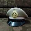 หมวกหม้อตาลชายสีกากี หน้าครุฑโลหะ (พร้อมซองหมวก)