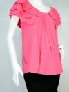 JASPAL เสื้อผ้ายืดสีชมพู