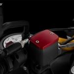 ฝาปิดกระปุก biker สีแดง