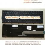 Dell Keyboard คีย์บอร์ด Inspiron N3541 N3542 N3543 N3558 N5542 N5543 N5545 N5547 N5548 N5551 N5555 N5557 N5558 N5559 N7000 N7557 N7559 / 3541 3542 3543 3558 5542 5543 5545 5547 5548 5551 5555 5557 5558 5559 5547 5545 5000 7000 7557 7559 ภาษาไทย อังกฤษ