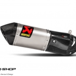 ท่อ Akrapovic Slip-On Line Titanium For Ducati Multistrada 1200