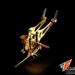 เกียร์โยง RSV สีทอง for ER6N 2008-2011