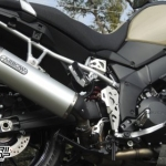 ท่อ ARROW TITANIUM FULL-SYSTEM FOR SUZUKI V-STROM650