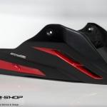 อกล่าง STORM สีดำแดง FOR HONDA CB650F