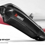 ท่อ Akrapovic New Serie Slipon