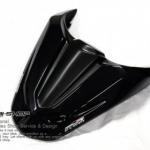 ครอบเบาะ Strom for CB CBR650F สีดำเงา