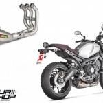 ท่อ Akrapovic Fullsystem Titanium 3 รู Carbon for Yamaha XSR900