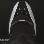 อันเดอร์เทล MotoZaa สีขาว for Ninja300 Z300 Z250