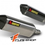 ท่อ AKRAPOVIC SLIP-ON FOR KAWASAKI NINJA300/Z300
