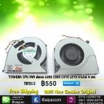 TOSHIBA CPU FAN พัดลม L850 C850 C870 L870 สายไฟ 4 เส้น