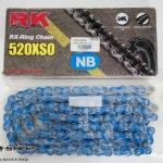 โซ่ RK 520 RX-RING สีฟ้า