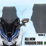 ชิวหน้า HERO V3 FOR HONDA FORZA300 2018