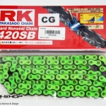 โซ่ RK 420 สีเขียว