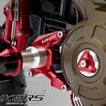 ชุดกันล้มข้าง biker for ksr Engine Protector Set