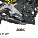 ท่อ SC PROJECT OVAL Fullsystem for Kawasaki ER6N - Ninja 650